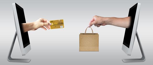 Online shopping oder im Laden