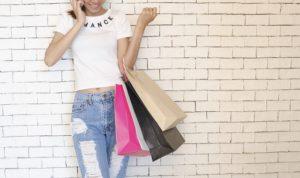 shopping im laden